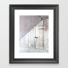 Tucked Away Framed Art Print