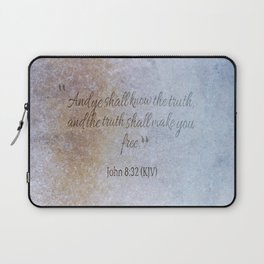 The truth will make you free 2 Laptop Sleeve