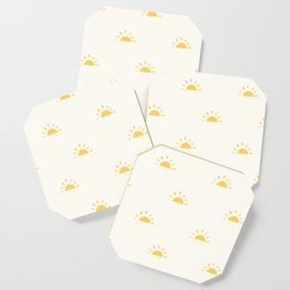 Natural Sunshine Pattern Coaster