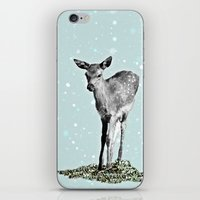 bambi iPhone & iPod Skins featuring Bambi by Monika Strigel