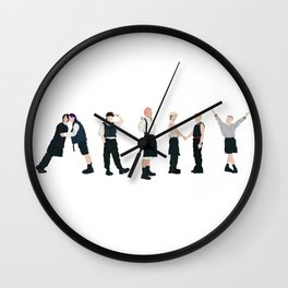 Butter Army  Wall Clock