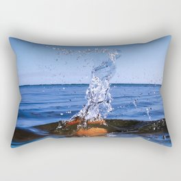 Water Sculpture 4 Rectangular Pillow