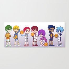 Kuroko no Basket Canvas Print