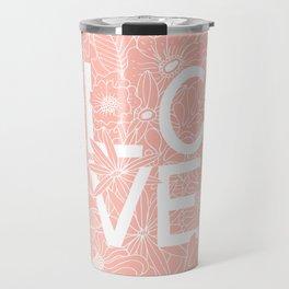 Pink Love Travel Mug