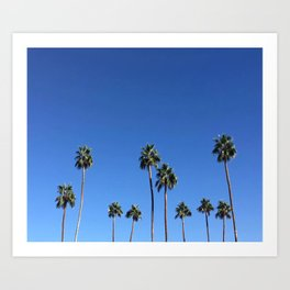 palm springs views 2 Art Print