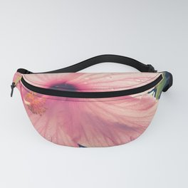 Hibiscus in the Rain Fanny Pack