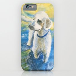 Koda - the Water-Loving Doodle iPhone Case