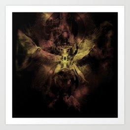 Thanatos: Prelude VI, fragment Art Print