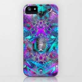 Abstract Energy 2 iPhone Case