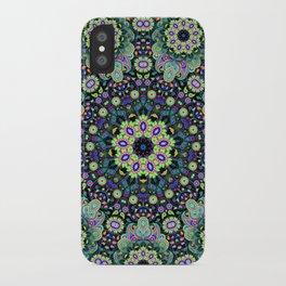 Nine sided paisley iPhone Case