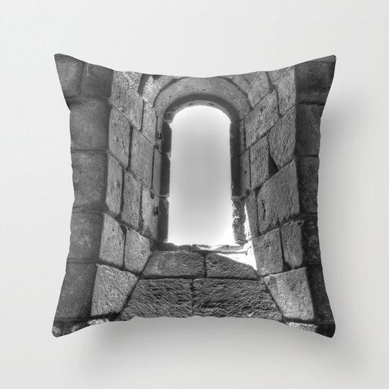 Medieval Window Throw Pillow