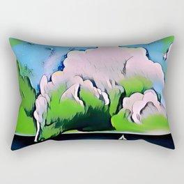 Wolf cloud Rectangular Pillow