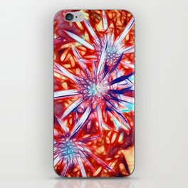 Star Bright in Red iPhone Skin