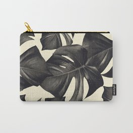 Monstera Leaves Pattern #8 #tropical #decor #art #society6 Carry-All Pouch