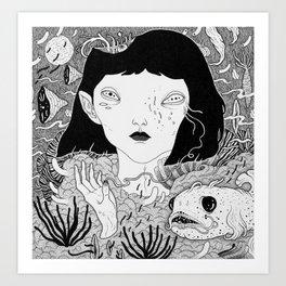 where i grow Art Print