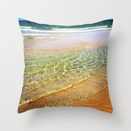 Dream Waves Throw Pillow