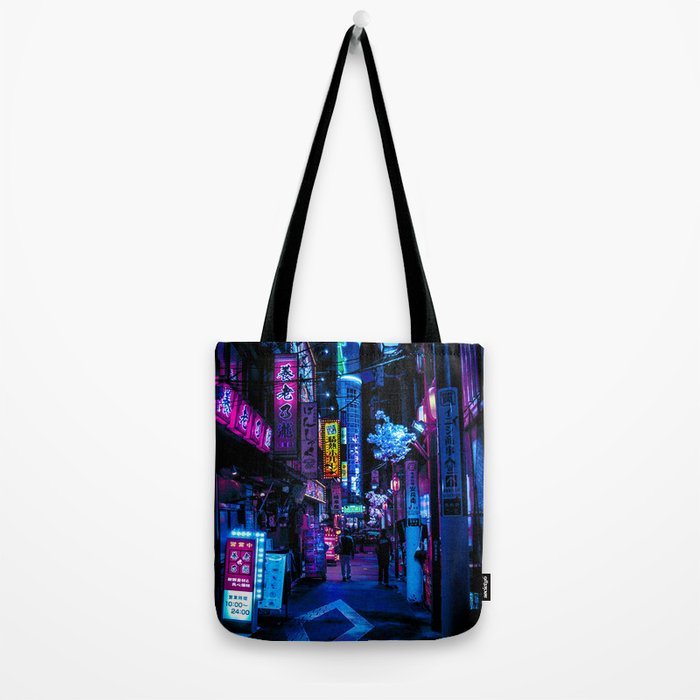 Tokyo's Blade Runner Vibes Tote Bag