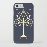 gondor iPhone & iPod Cases featuring tree of gondor by skymerol