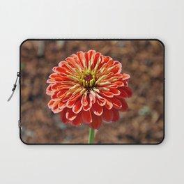 Single orange dahlia Laptop Sleeve