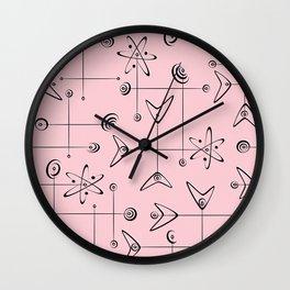 Atomic Mobiles Wall Clock