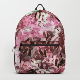 Cranberry Confetti Waves Backpack