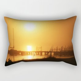 Foggy Glow Rectangular Pillow