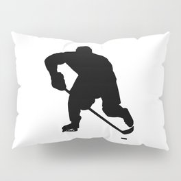 Ice hockey player Pillow Sham