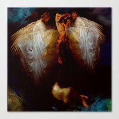Ascension  of the soul Canvas Print