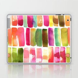 Watercolor Stripes Laptop & iPad Skin