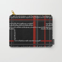 Dracula - A text print Carry-All Pouch