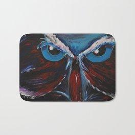 Great Horned Owl Bath Mat