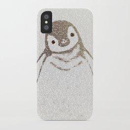 The Little Intellectual Penguin iPhone Case