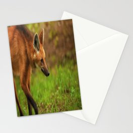 Wolf Strut Stationery Cards