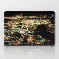 dallas iPad Cases featuring DALLAS SKYLINE by Kelsey Barrentine