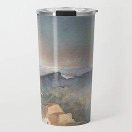 Desert Poppy Travel Mug