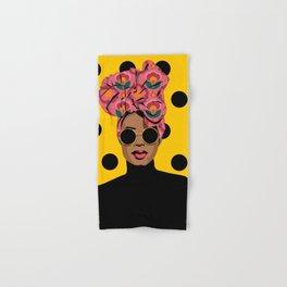 Black Beauty Hand & Bath Towel