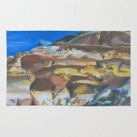 dune Area & Throw Rugs featuring Dune by Ana Rafael