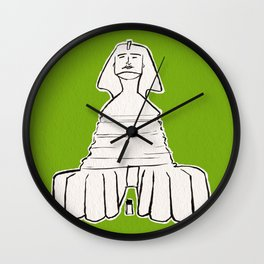The great sphinx of Giza Wall Clock