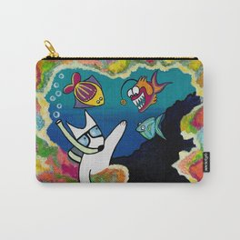 Coralful Carry-All Pouch