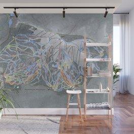 Mammoth Mountain Resort Trail Map Wall Mural
