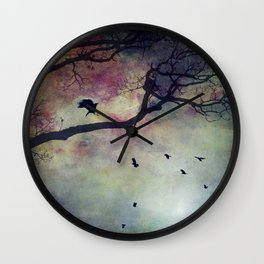 marvels of color Wall Clock