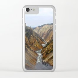 Grand Canyon of the Yellowstone Clear iPhone Case
