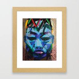 K Framed Art Print