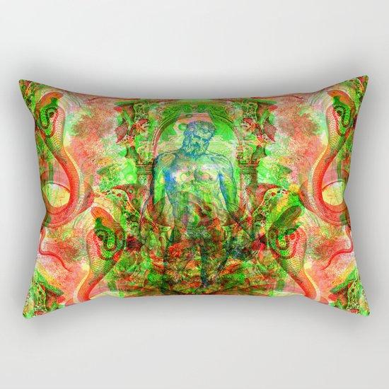 Aesculapius Rectangular Pillow
