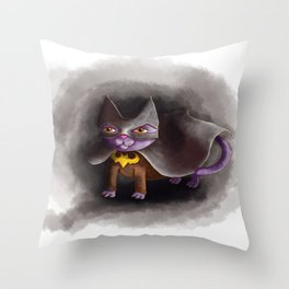 BatCat Throw Pillow
