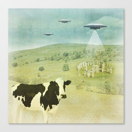 Return to Stonehenge Canvas Print