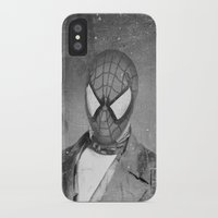 superheros iPhone & iPod Cases featuring Spidey Senior by Zach Terrell