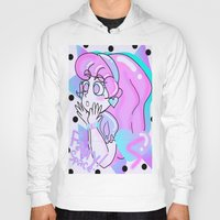80s Hoodies featuring 80s Dreamer ~ by fairyspace