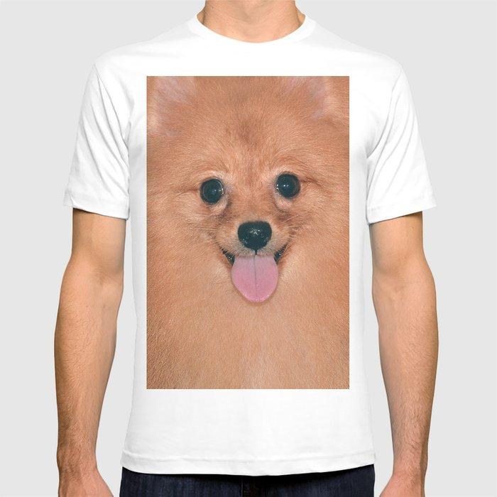 bec55edbb Pomeranian T-shirt by sarapen | Society6