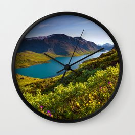 Jotunheimen Nasjonal Park Norway Wall Clock